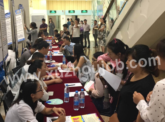 8月19日徐州英才网综合招聘会举办成功